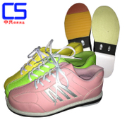 ZTE professional bowling new exports to domestic women's bowling shoes 2016 B-0092