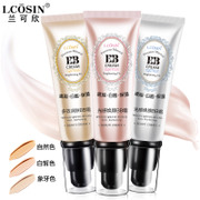 LAN Ke multi effect white BB cream oil cream liquid foundation Concealer strong moisturizing whitening acne non nude make-up