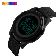 Time men watch waterproof personality large dial electronic watch multifunction watch sports trend of male and female students