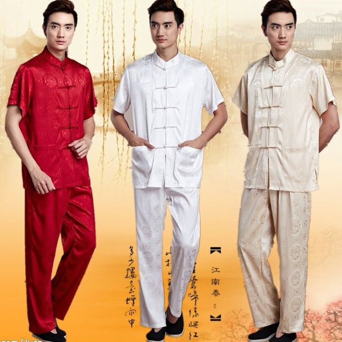 Classical Chinese new men's * summer spring and autumn short sleeved costumes ultra-thin QC107 red suit Costume