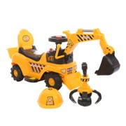 Children's sliding electric excavator can ride the excavator 1-8 years old baby toys four wheels