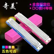 C 24 hole harmonica harmonica children adult beginners students practice started playing CMO shipping