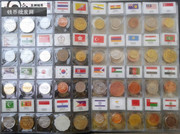 The 60 countries of the world coin collection of the 60 countries of the 60 kinds of foreign coins do not repeat foreign coins foreign coins