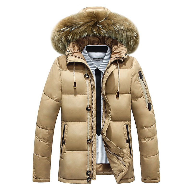 The new 2015 men down jacket eiderdown outerwear male male or men's clothing of long thickening coat