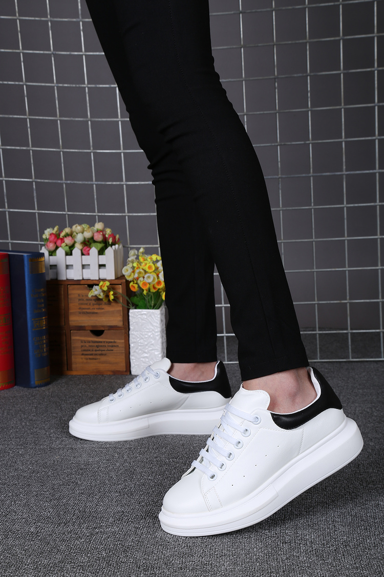 New winter SAN SAN yuan with higher section within the small white shoes casual shoes sneakers shoes leather sponge platform shoes