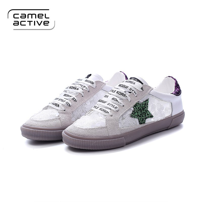 Dirty shoes spring 2017 new all-match Korean white shoe lace female Korean students to do the old silver stars