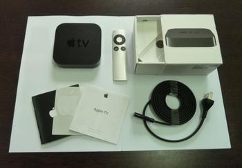 Apple Apple TV3 network player MD19ZP/A hd 1080 p pack mail network player