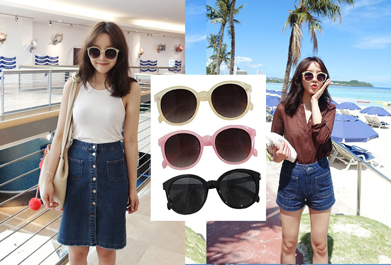 South Korea's official website purchasing maybe-baby summer, lovely with good Sunglasses