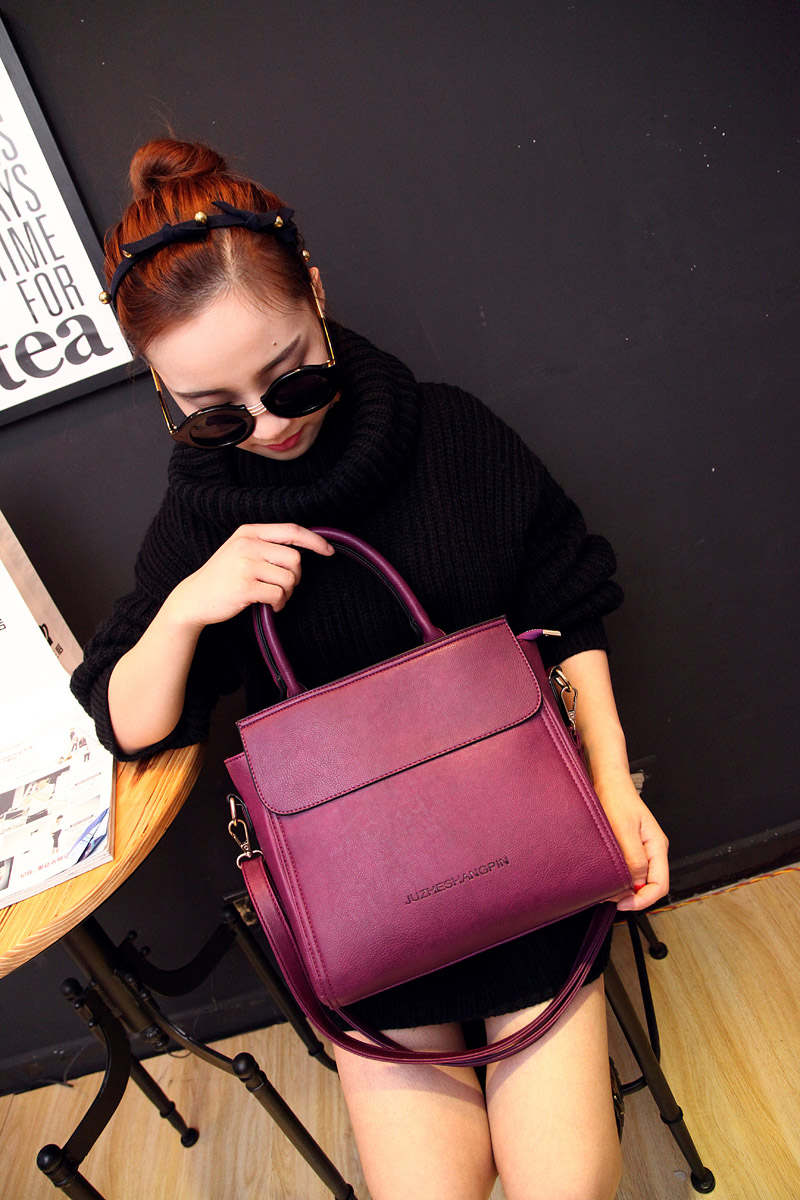 Package postal 2015 Korean new document bag personalized letters fashion handbags casual mobile single diagonal shoulder handbag