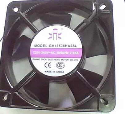 Radiator fan, GH13538HA2SL, 135X40MM, 220V-240V, 2 lines, brand new