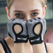 The summer male female fitness gloves, sports gloves anti-skid breathable wrist dumbbell training equipment refers to the semi thin section of wear