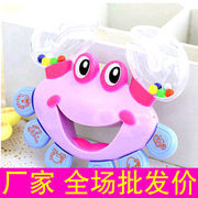Infant Baby Toy rattle rattle crab grasping force identification toy development hearing it