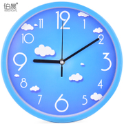 The living room wall clock watch platinum morning personality of modern minimalist fashion creative clock quartz clock watch round the clock