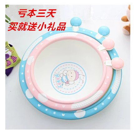 Upset bees baby cartoon children lavatory baby lavatory basin basin washing footbath PP basin