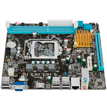 New Branch brain H61 computer motherboard H61-1155 pin motherboard supports dual-core / quad-core I3 15 and other CPU