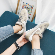 Autumn Korean new men's shoes all-match running couple fashion youth low tide shoes