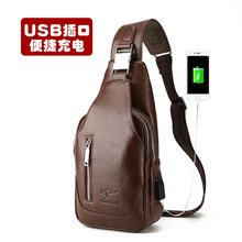 Kangaroo men chest pack diagonal bag bag casual shoulder bag messenger bag bag bag backpack chest Korean tide