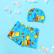 2017 new children baby baby boy child swimsuit boxer spa Swimming Trunks Swimsuit cute cartoon swimsuit