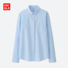 Oxford women's shirt (long sleeved) 401225 UNIQLO UNIQLO