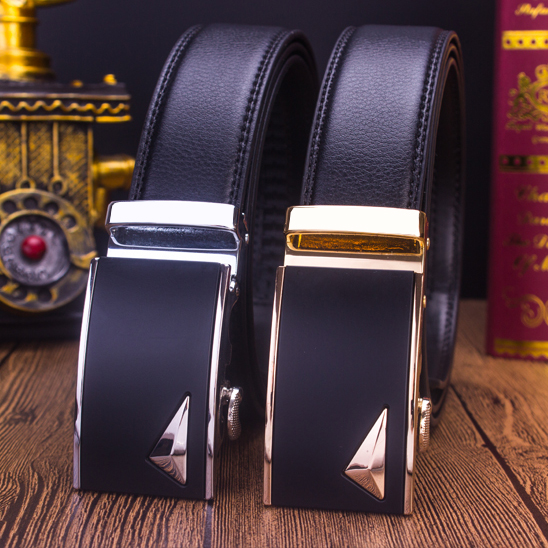 2017 new special offer, two layers of leather belt, business young students, Korean style male Korean version of leisure belt