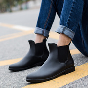 Men's boots are low in summer Chelsea boots male short tube waterproof anti-skid water shoes shoes shoes