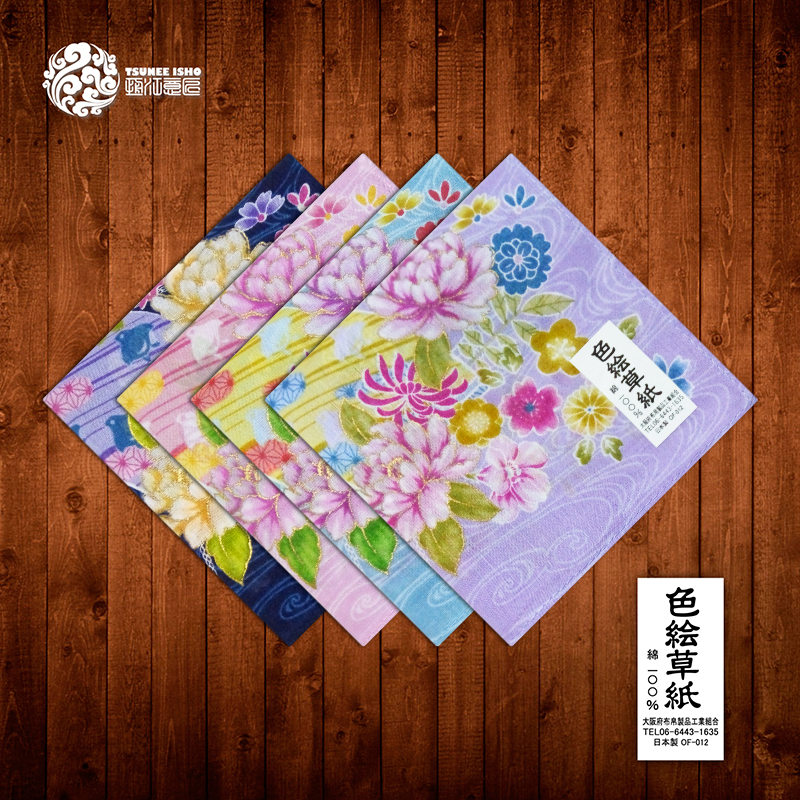 Ms Japan made a handkerchief Cotton absorbent antique female handkerchief square cotton single thin soft towel