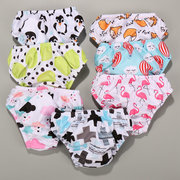 INS new baby swimming pants baby spa swimming trunks triangle waterproof swimming pool must leak urine