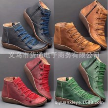 Goods through restoring ancient ways zipper shoes leisure