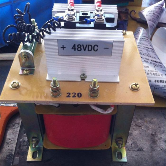 单相380V220变直流60V48V36伏伺服电机电磁铁4000W整流变压器4KVA