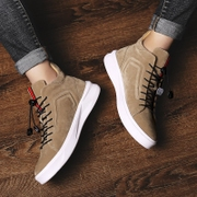 High shoes shoes autumn shoes leisure shoes Gobon trend of Korean winter winter with warm cotton velvet