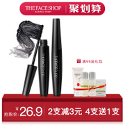 THE FACE SHOP big belly thick Curl Mascara lash waterproof not dizzydo authentic Korean encryption extension