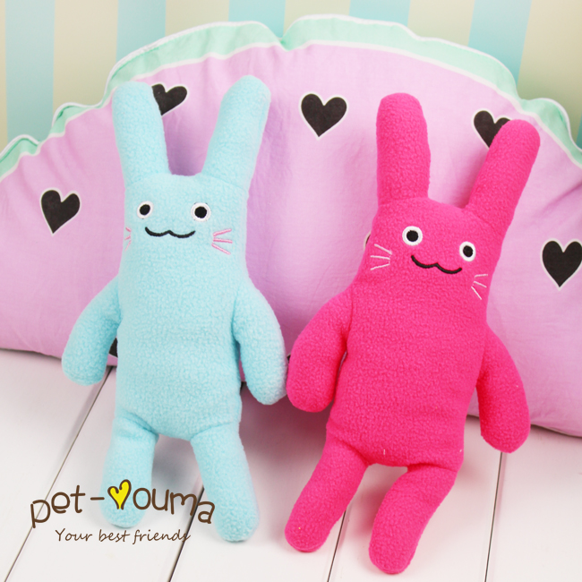 Cheap ~ cute pet dog toy rabbit Teddy Yorkshire toys to accompany sleep ~ special toy bear
