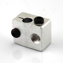 3D printer heating aluminum block (20*6*11.3mm) A1 3D DIY printer accessories, electronic components materials