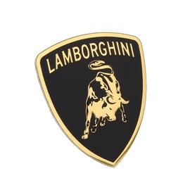 兰博基尼汽车3D立体贴 标志 改装铭牌金属薄贴铝合金车贴车标贴标