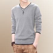 The winter with cashmere sweater V Korean men led the students warm personality trend of men's sweater sweater