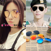 Ray-Ban RayBan RB3025 sunglasses sunglasses sunglasses mirror pink purple colorful polarizing film for men and women