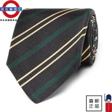 The 10 men purchasing new Drake's striped silk tie London business tax package mail
