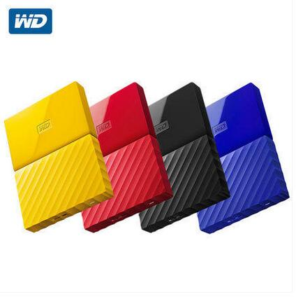WD WD 4tb mobile hard disk USB3.0 speed My Passport non 3T WD 4T mobile hard disk