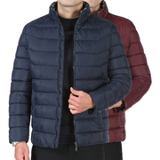 XOS80JYD1802 collar coat 2017 middle-aged men's cotton jacket padded coat-collar cotton wear