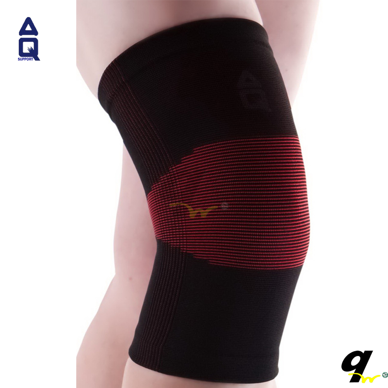 Counters authentic standard ultra thin knitting knee AQ sports gear 1155 (red and black)