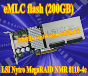 LSI Nytro megaraid NMR 8110-4e cache 1GB SSD capacity 200GB Array Card
