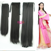 Other pieces of costume Hanfu long straight hair supple hair Ponytail Hair Extensions show Hanfu Helen of Troy wig tablets tablets