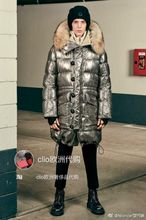 Italy Moncler counter purchasing alliance had 17 new winter moon series Inuit long down jacket
