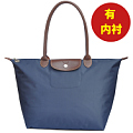 Large capacity Mummy bag shoulder bag Large dumpling bag Waterproof nylon handbag Simple dumpling bag Folding handbag
