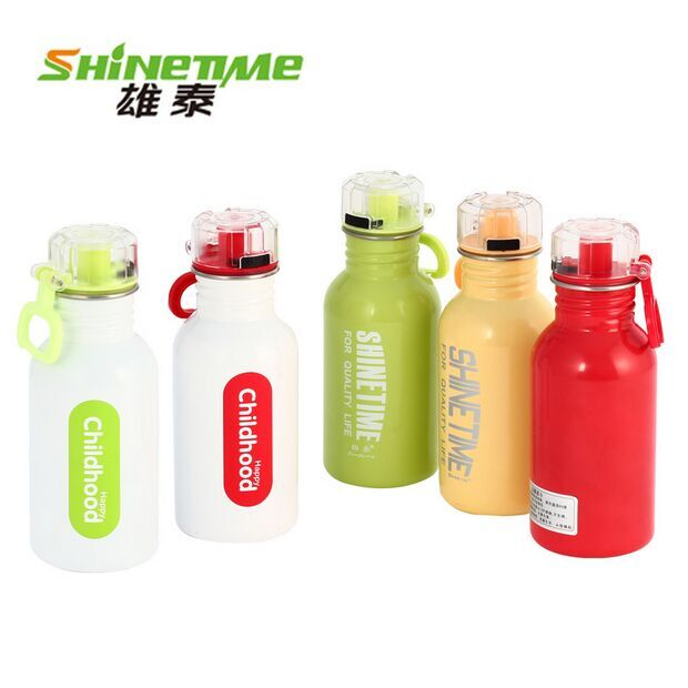 Male Thai student Cup sports travel tumbler outdoor cold stainless steel canteen Cup of cold water 500ML capacity