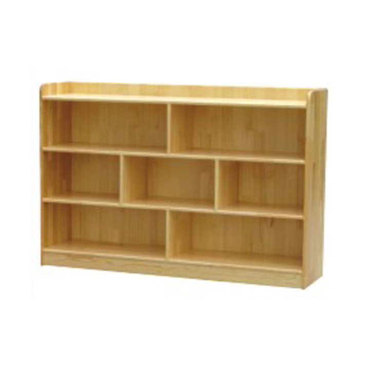 Factory direct wood toy chest toy bookcase shelves Cabinet kindergarten management arm children Bookshelf