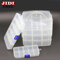 Base Home jewelry small clear storage boxes plastic storage box jewelry box with lid check box
