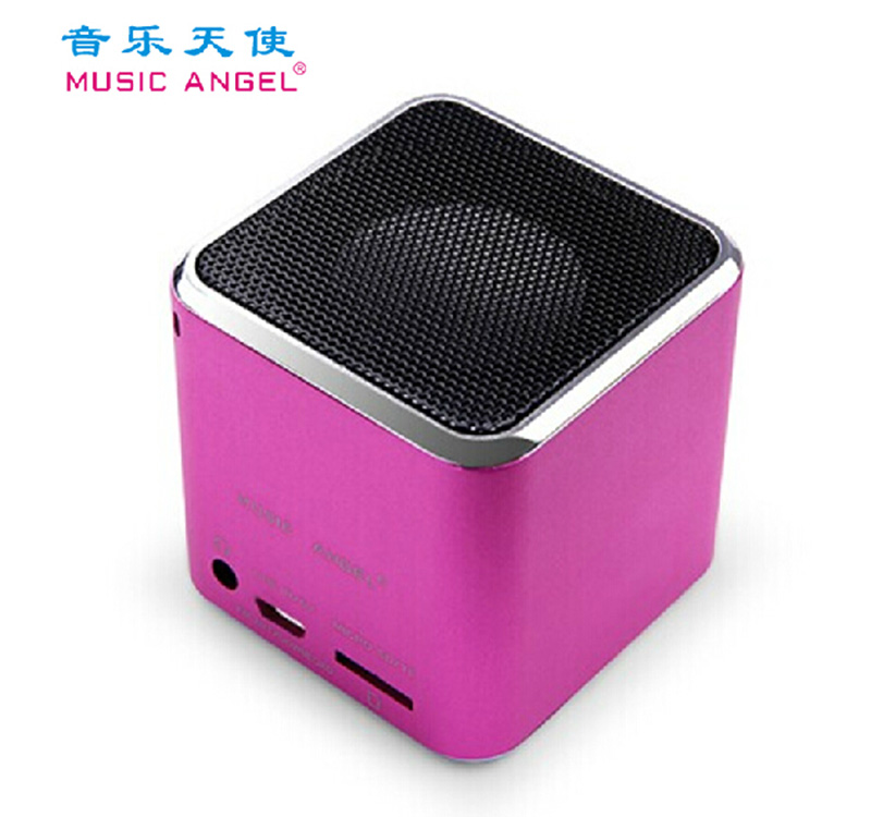 Music, Angel/, music angel, MD-07D, plug TF, read poetry, MP3 play sound, FM outdoor speakers