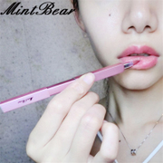 MintBear lip lipstick lipstick lip brush brush portable telescopic belt cover metal tube Mini Brush