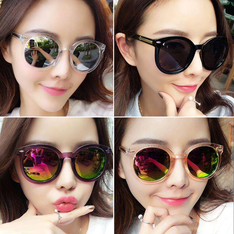 2017 ms han edition of the new round sunglasses tide sunglasses round character elegant fashion glasses eye restore ancient ways